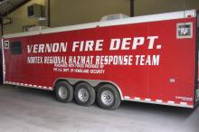 2005 Cargo Craft Regional HazMat and Command Trailer